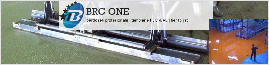 BRC ONE Bucuresti - Tamplarie PVC si Aluminiu, confectii fier forjat Logo