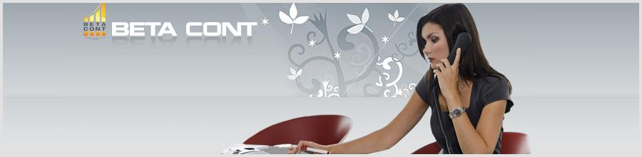 BeTa CONT 2000 Servicii financiar-contabile Logo