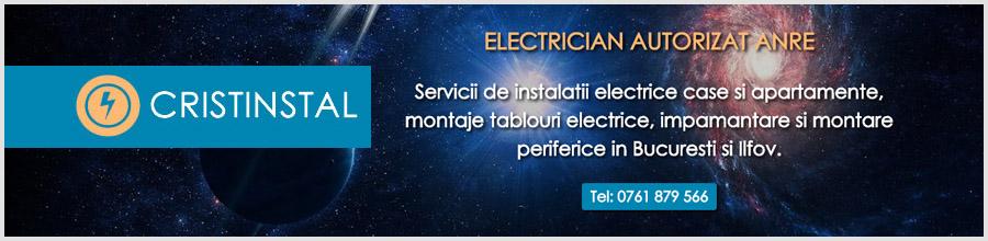 Cristinstal - Reparatii si montaj instalatii electrice Bucuresti Logo