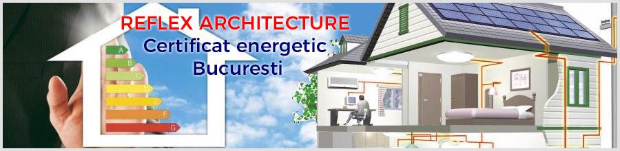 REFLEX ARCHITECTURE Certificat energetic Bucuresti Logo