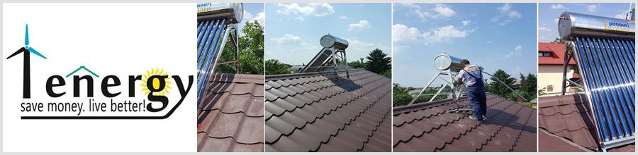 1Energy Best Solution - Sisteme solare pentru apa calda si aport la incalzire, Bucuresti Logo