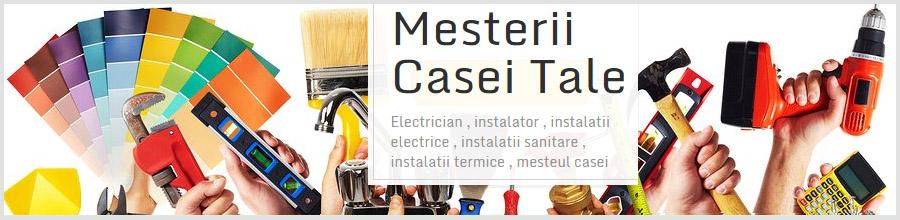 MCT Mesterii Casei Tale Bucuresti - Reparatii instalatii electrice, termice si sanitare Logo