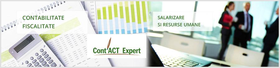 CONT'ACT EXPERT firma de contabilitate Bucuresti Logo