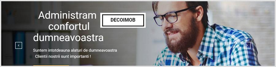 Decoimob - Administrare Imobile Bucuresti Logo