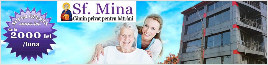 Camin privat pentru batrani Sf. Mina - Bucuresti Logo