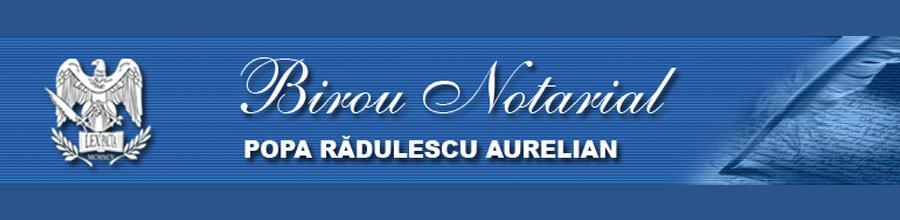 Popa Radulescu si Asociatii - Societate Profesionala Notariala Bucuresti Logo