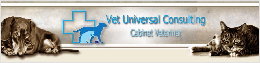 Cabinet Veterinar Vet Universal Consulting Logo