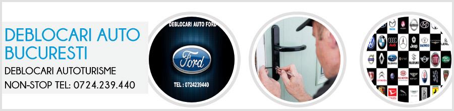 Deblocari auto Bucuresti - Program non stop Logo
