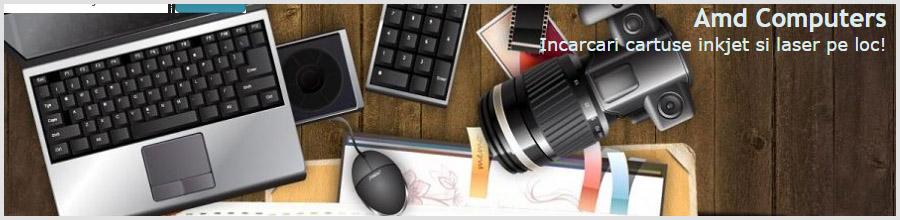 Service Amd Computers - Reparatii PC, Laptop, Imprimante, copiatoare Bucuresti Logo
