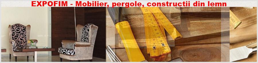 EXPOFIM - Mobilier, pergole, constructii din lemn Bucuresti Logo