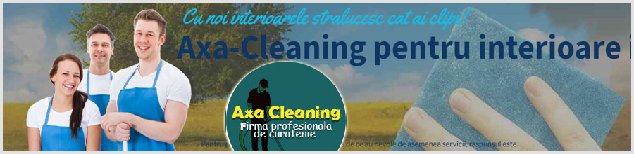 Axa Cleaning Services Logo