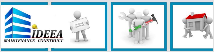 Ideea Maintenance Cleaning - Servicii de curatenie, Bucuresti Logo