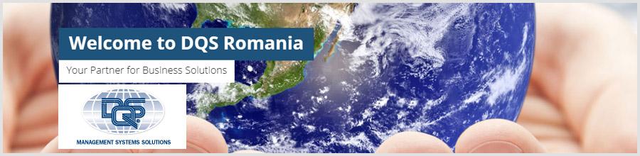 DQS Romania certificare si audit Bucuresti Logo