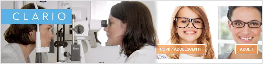 Clario Oftaclinic oftalmologie Bucuresti Logo
