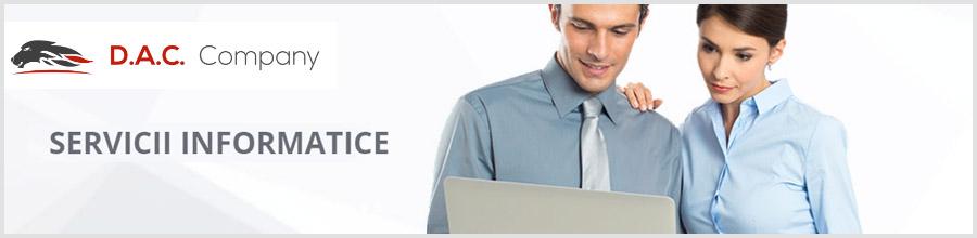 DAC Company aplicatii informatice contabilitate Bucuresti Logo