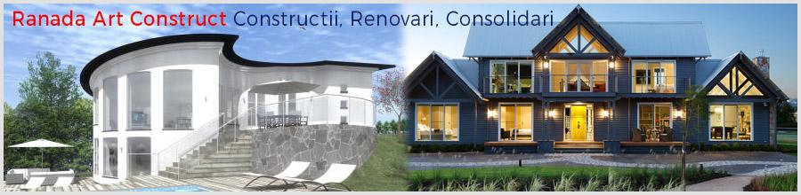Ranada Art Construct Constructii, Renovari, Consolidari Bucuresti Logo