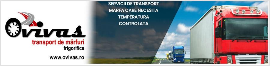 Ovivas transport marfuri Cluj Logo