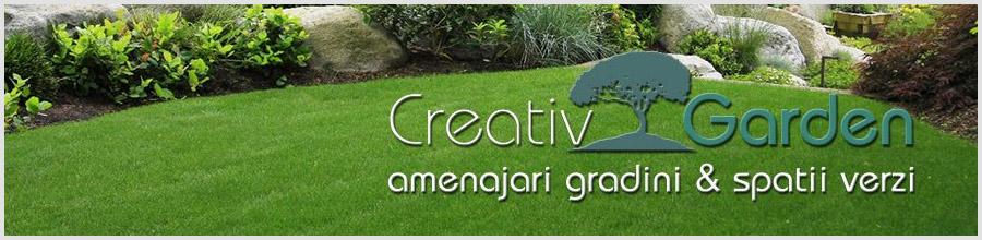 Creativ Garden, Popesti Leordeni / Ilfov - Montaj rulouri de gazon si insamantare Logo