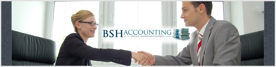 BSH ACCOUNTING SERVICES contabilitate, consultanta Bucuresti Logo