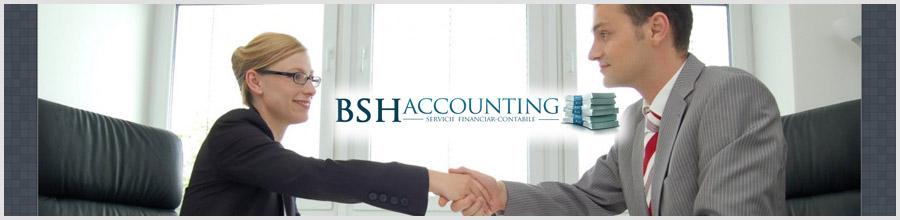 BSH Accounting Services contabilitate, consultanta Bucuresti Logo