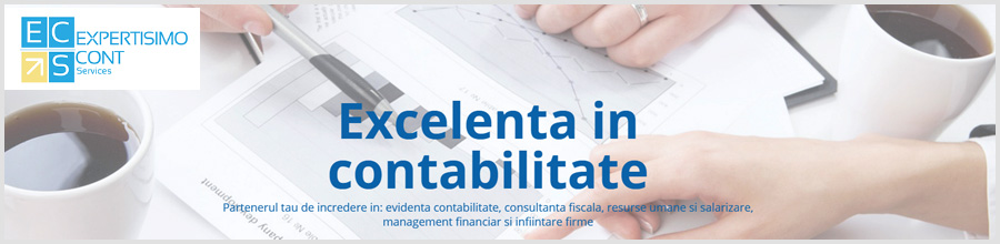 EXPERTISIMO CONT SERVICES contabilitate Bucuresti Logo