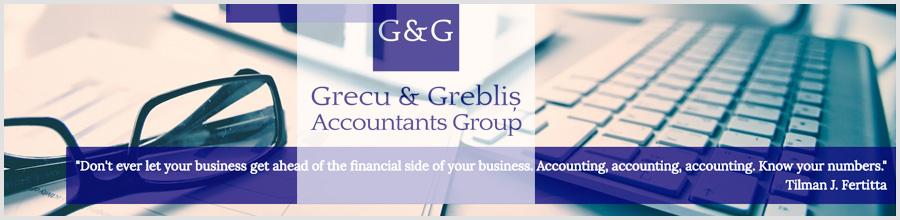 Asociatie de Experti Contabili Bucuresti Grecu & Greblis Logo