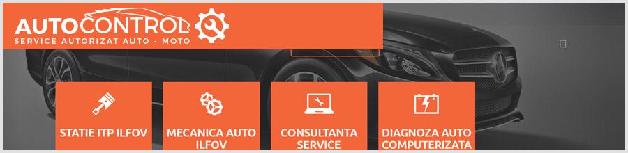 Auto Control service auto Ilfov Logo