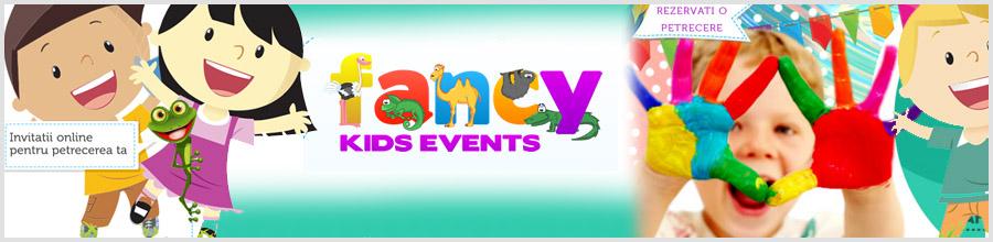 Fancy Kids Events loc de joaca Bucuresti Logo