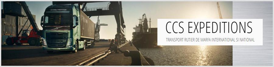 CCS EXPEDITIONS transport marfa Balotesti Logo