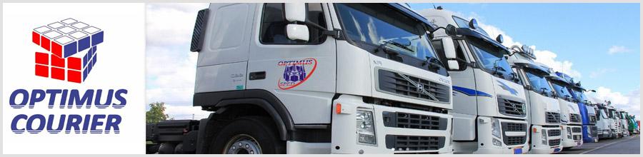 Optimus Transport transport marfuri, mutari Cluj Logo