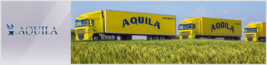 Aquila - Transport rutier intern si international de marfa, Ploiesti Logo