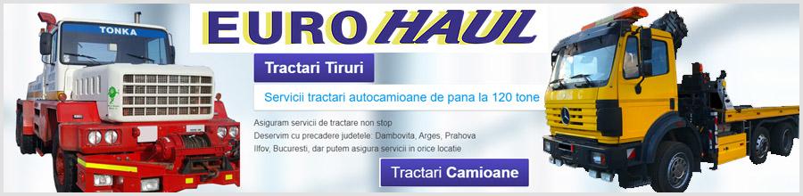 EuroHaul Services Tractari camioane, tiruri si utilaje grele Logo