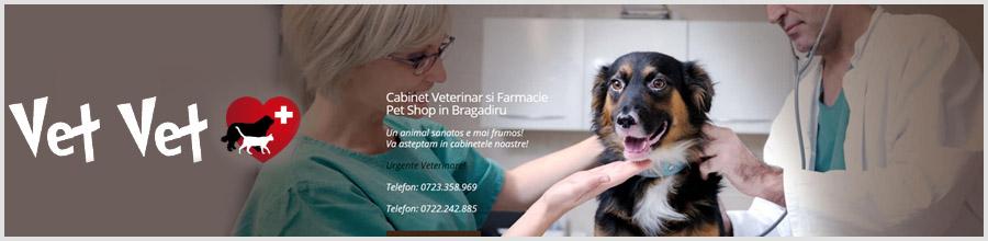 Vet Vet - Cabinet Veterinar, Farmacie, Pet Shop Bragadiru Logo