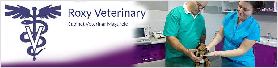 Roxy Veterinary-cabinet veterinar- Magurele Logo