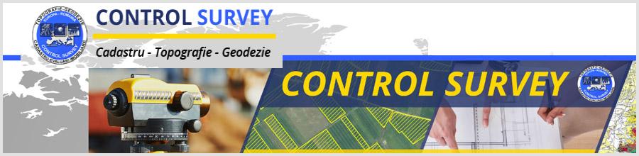 Control Survey cadastru Bucuresti Logo