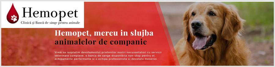 Hemopet - Clinica si Banca de Sange pentru animale Bucuresti Logo
