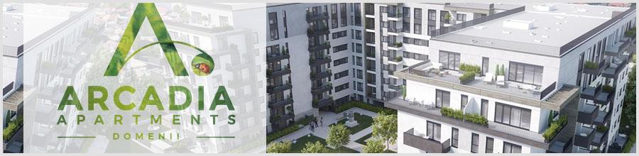Ansamblu rezidential Arcadia Apartments Domenii Logo