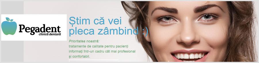 Clinica Dentara Pegadent Bucuresti Logo