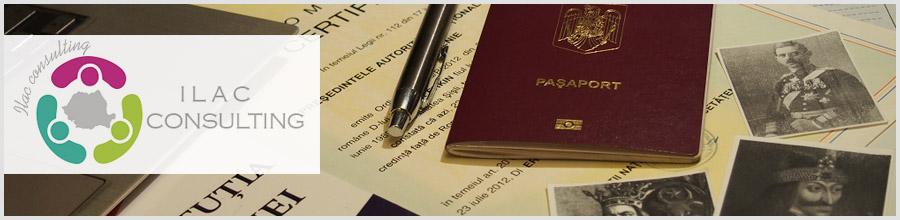ILAC Consulting consultanta obtinere cetatenie romana Bucuresti Logo