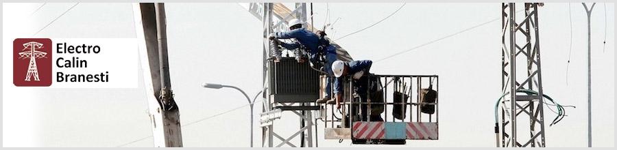 Electro Calin, Proiectare, executie, bransament si reparatii retele electrice - Branesti / Ilfov Logo