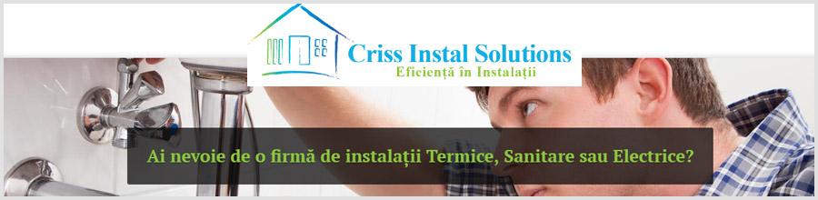 Criss Instal Solutions instalatii sanitare Bucuresti, Bragadiru Logo