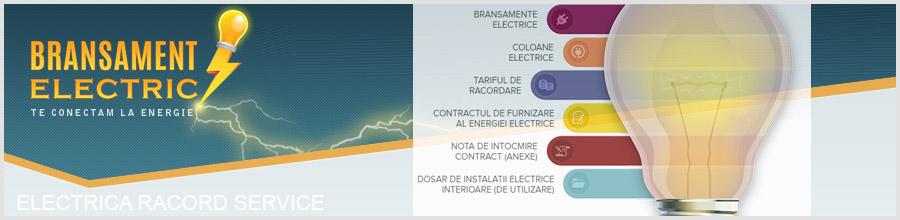 ELECTRICA RACORD SERVICE bransamente electrice Bucuresti Logo