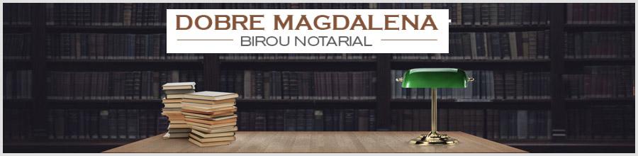 Dobre Magdalena - Birou Individual Notarial Bucuresti Logo