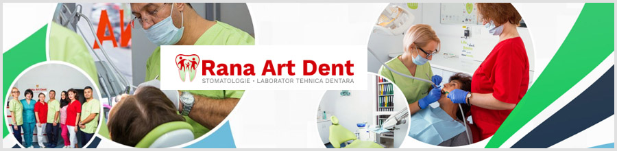 Clinica Stomatologica si Implantologie Dentara Rana Art Dent Bucuresti Logo