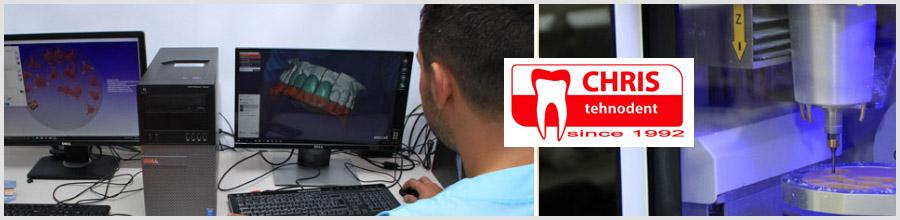 Chris Tehnodent - laborator dentar Bucuresti Logo