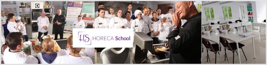 Horeca School - Cursuri calificare hoteluri, restaurante Logo