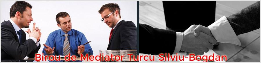 Turcu Silviu-Bogdan - Birou de Mediator Bucuresti Logo