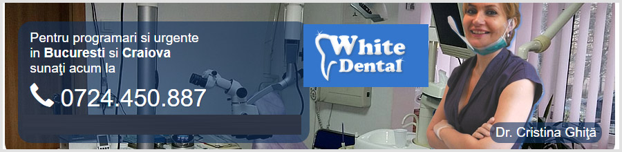 Cabinet stomatologic White Dental Bucuresti Logo