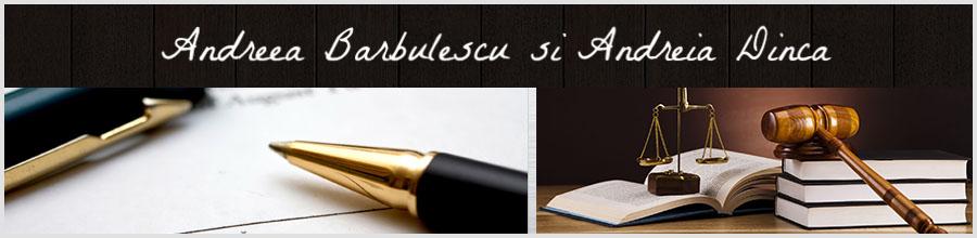 Andreea Barbulescu, Andreia Dinca - Birou Notarial Bucuresti Logo