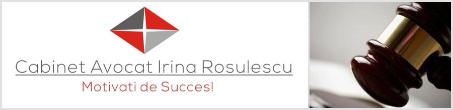 Cabinet Individual de Avocatura Irina Rosulescu - Craiova Logo